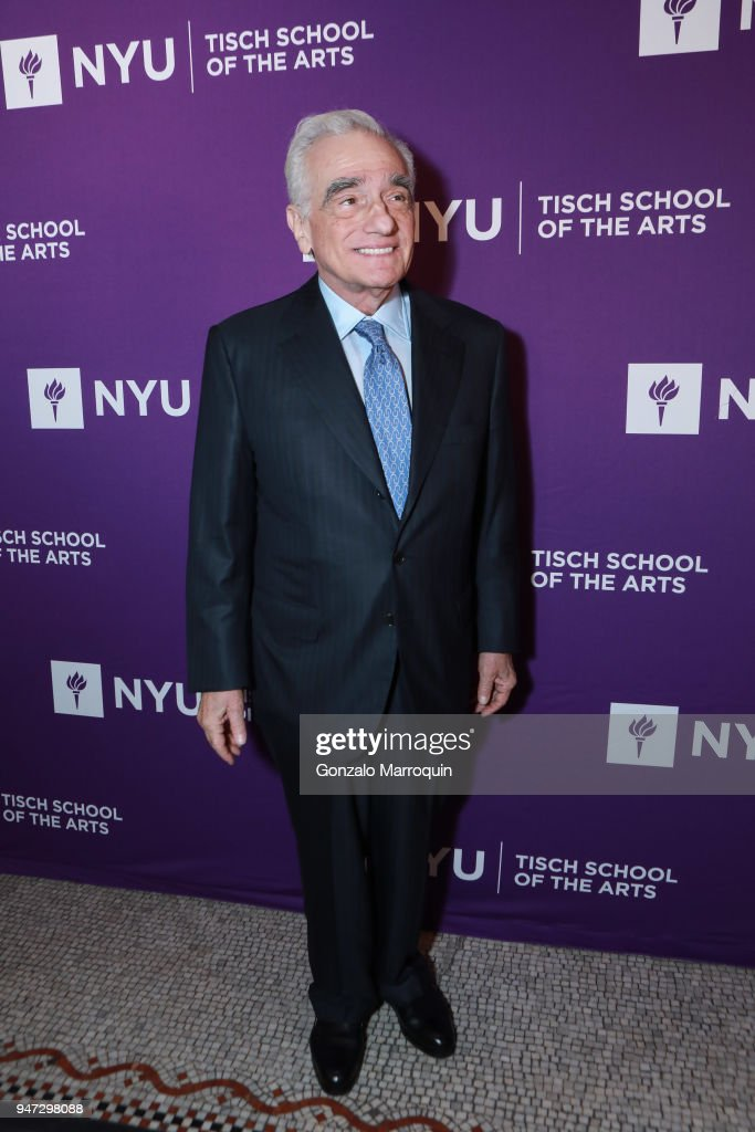 Martin Scorsese during the NYU Tisch School of the Arts GALA 2018 at Capitale on April 16, 2018 in New York City.