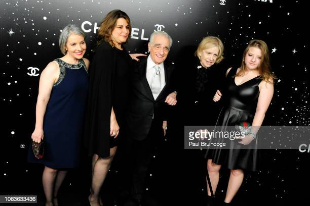 Martin Scorsese Helen Morris Francesca Scorsese and guests attend The Museum Of Modern Art Film Benefit Presented By Chanel A Tribute To Martin...