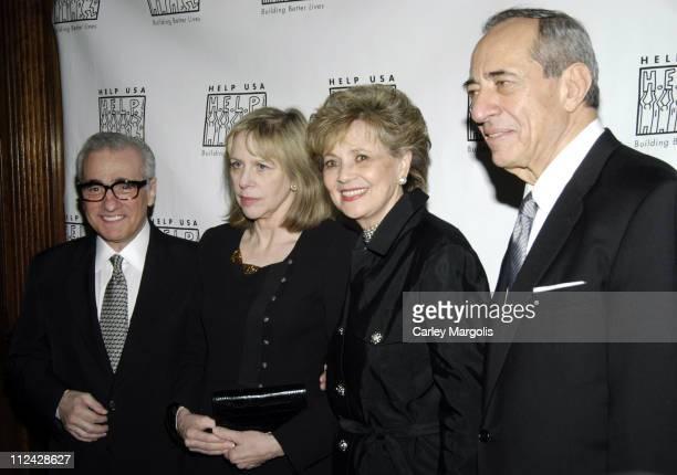 Martin Scorsese Helen Morris Matilda Cuomo and Gov Mario Cuomo