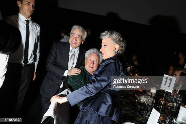 Martin Scorsese Martin von Haselberg and Bette Midler attend the Museum of Modern Art Film Benefit Presented by Chanel A Tribute to Martin Scorsese...