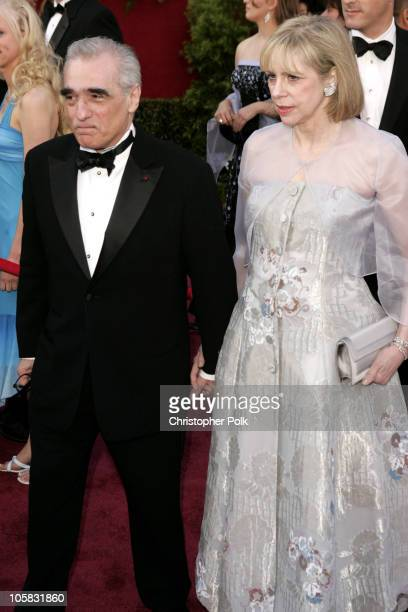 Martin Scorsese nominee Best Director for The Aviator and Helen Morris