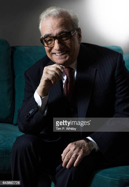 Martin Scorsese poses for a photo ahead of appearing on stage as part of the 'In Conversation' series of events at BFI Southbank on February 22 2017...