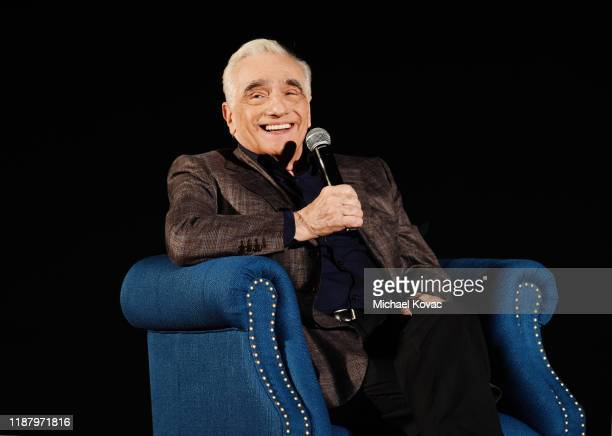 Martin Scorsese speaks onstage during 2019 AFI Fest: The Irishman at TCL Chinese Theatre on November 15, 2019 in Hollywood, California.