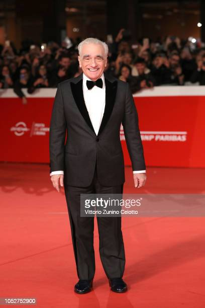 Martin Scorsese walks the red carpet during the 13th Rome Film Fest at Auditorium Parco Della Musica on October 22 2018 in Rome Italy