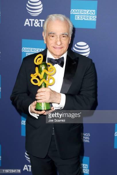 Martin Scorsese winner of the Sonny Bono Visionary Award attends the 31st Annual Palm Springs International Film Festival Film Awards Gala at Palm...