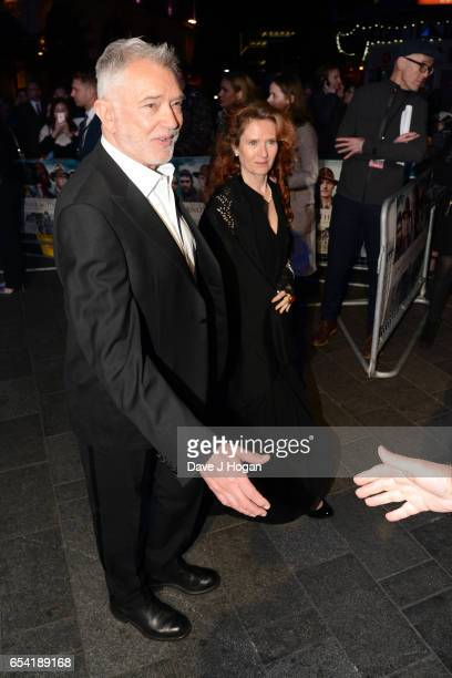 Martin Shaw and Karen De Silva attend the World Premiere of Another Mother's Son on March 16 2017 in London England