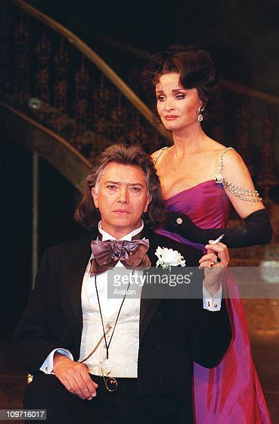 KATE O'MARA British Actress In a scene from the play 'An Ideal Husband' at the Theatre Royal Haymarket London