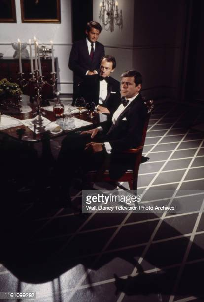 Martin Sheen as Att Gen Robert F Kennedy Peter Donat as British Ambassador David OrmsbyGore William Devane as President John F Kennedy appearing in...
