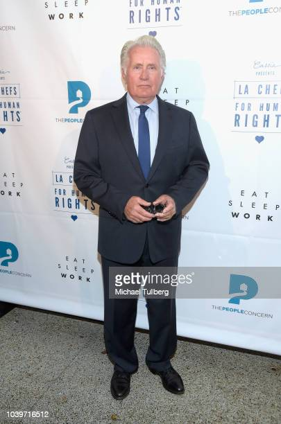 Martin Sheen attends Cassia's 3rd Annual LA Chefs For Human Rights Gala at Cassia on September 24, 2018 in Santa Monica, California.