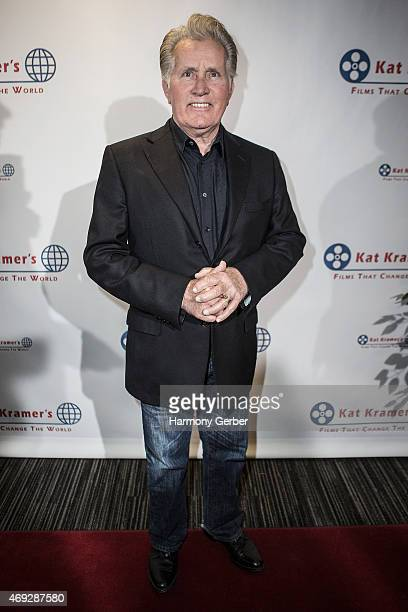Martin Sheen attends the 7th Annual Annual Kat Kramer's Films That Change The World Screening Series at The Canon USA Inc Screening Room on April 10...