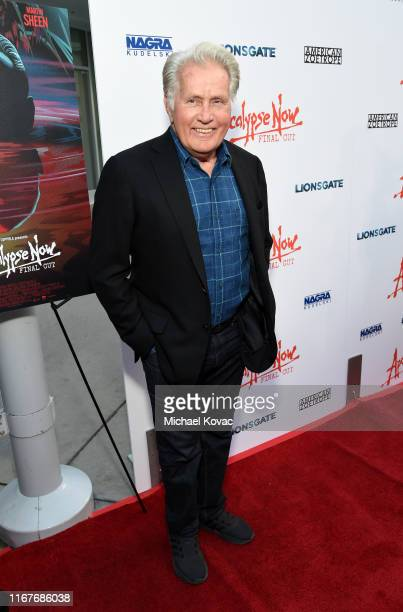 """Martin Sheen attends the """"Apocalypse Now"""" Final Cut 40th Anniversary Special Screening at ArcLight Cinemas Cinerama Dome on August 12, 2019 in..."""
