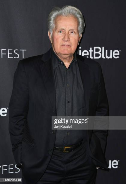 Martin Sheen attends The Paley Center For Media's 2019 PaleyFest LA Grace And Frankie at Dolby Theatre on March 16 2019 in Hollywood California
