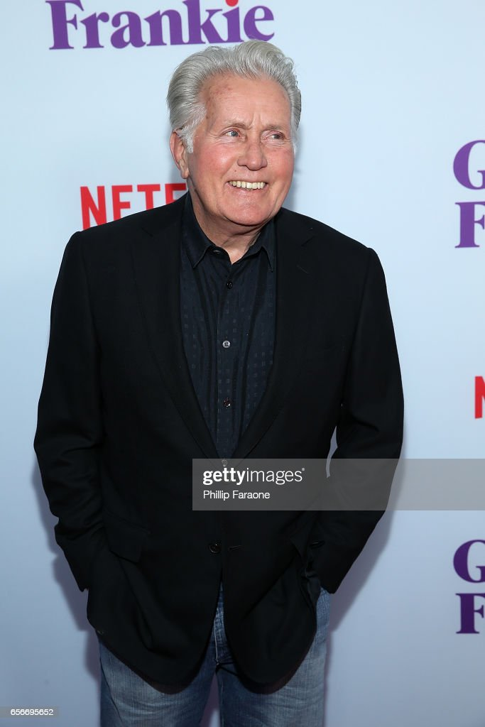 Martin Sheen attends the screening for Netflix's 'Grace and Frankie' Season 3 at ArcLight Hollywood on March 22, 2017 in Hollywood, California.