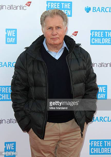 Martin Sheen attends We Day UK at Wembley Arena on March 5, 2015 in London, England.