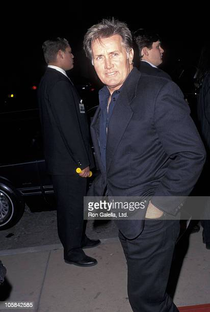 Martin Sheen during From Dusk Till Dawn Los Angeles Premiere at Cinerama Dome in Hollywood California United States