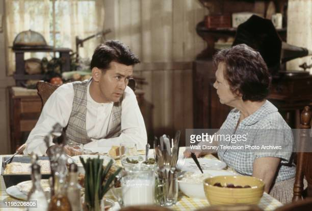 Martin Sheen Ellen Corby appearing in the ABC tv movie 'The Story of Pretty Boy Floyd'