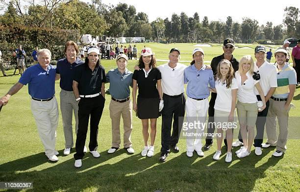**EXCLUSIVE** Martin Sheen Kyle MacLachlan Alice Cooper Haley Joel Osment Catherine ZetaJones Michael Douglas Kenny G Emily Osment Morgan Freeman...