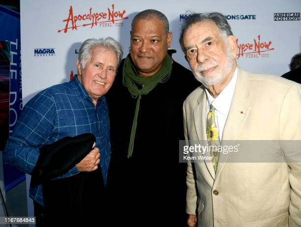 """Martin Sheen, Laurence Fishburne and Francis Ford Coppola arrive at the Premiere of Lionsgate's """"Apocalypse Now Final Cut"""" the at ArcLight Cinerama..."""