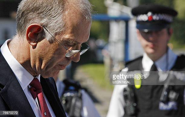 Martin Shirley director of the Institute for Animal Health Perbright Laboratory talks to the press following concerns about security at his...