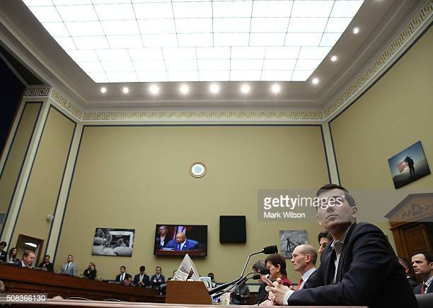 Martin Shkreli former CEO of Turing Pharmaceuticals appears before a House Oversight and Government Reform Committee on Capitol Hill February 4 2016...