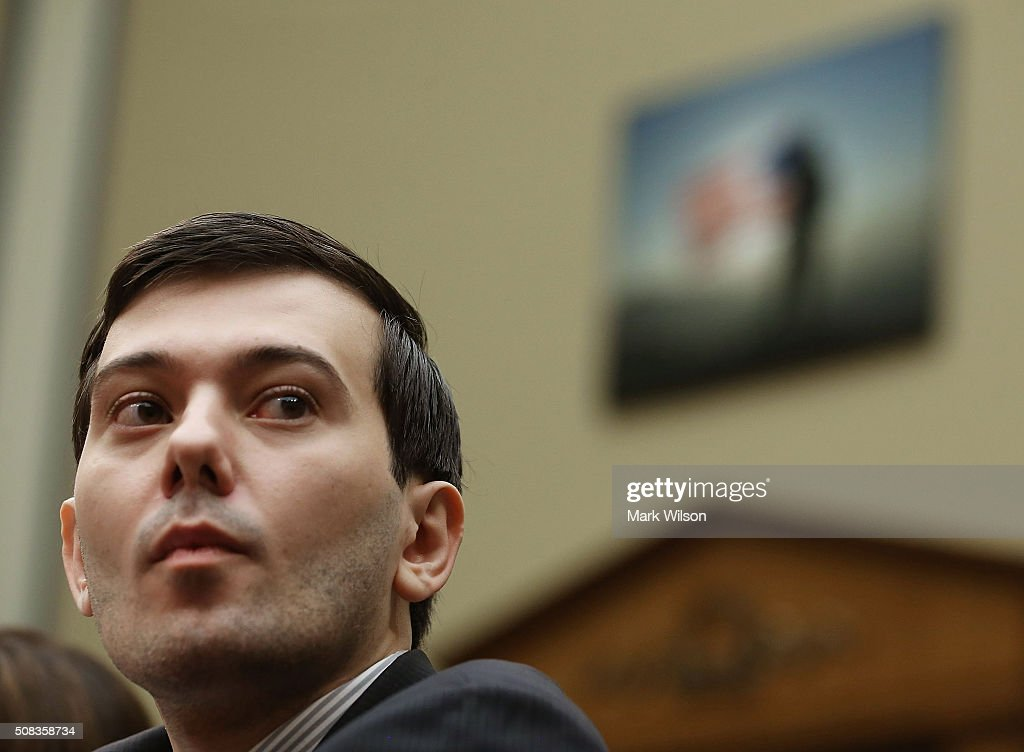 Controversial Former Pharmaceutical CEO Martin Shkreli Testifies On Oversight In Drug Market : News Photo