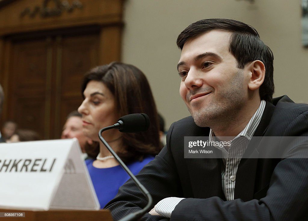 Controversial Former Pharmaceutical CEO Martin Shkreli Testifies On Oversight In Drug Market