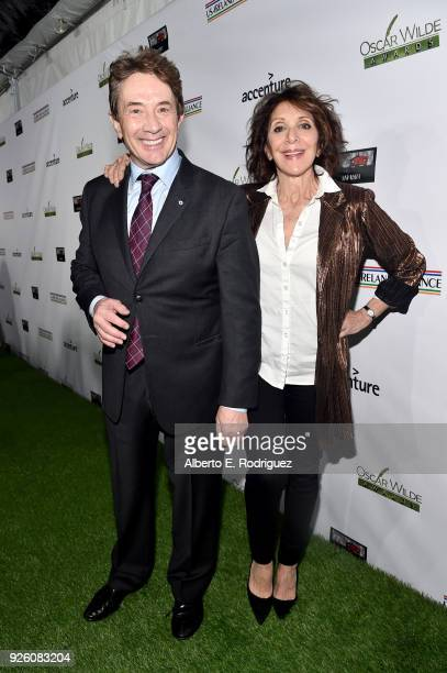 Martin Short and Andrea Martin attend the Oscar Wilde Awards 2018 at Bad Robot on March 1 2018 in Santa Monica California