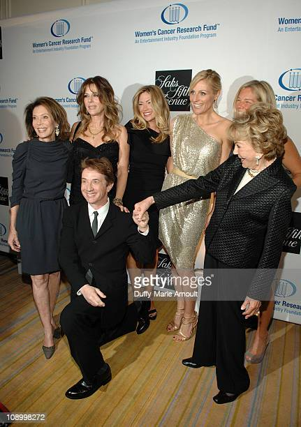 Martin Short and Anne Douglas Marion Laurie Rita Wilson Quinn Ezralow Jaime Tisch Kelly Chapman Meyer attend An Unforgettable Evening Benefiting...