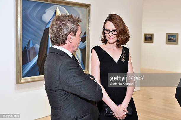 Martin Short and Anne Stringfield attend Hammer Museum's Gala in the Garden Sponsored by Bottega Veneta at Hammer Museum on October 10 2015 in...