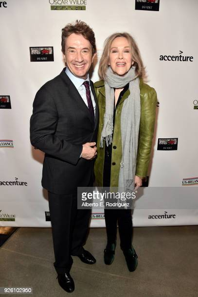 Martin Short and Catherine O'Hara attend the Oscar Wilde Awards 2018 at Bad Robot on March 1 2018 in Santa Monica California