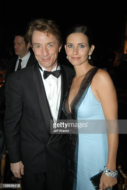 Martin Short and Courteney Cox Arquette during 55th Annual Primetime Emmy Awards Governors Ball at The Shrine Auditorium in Los Angeles California...