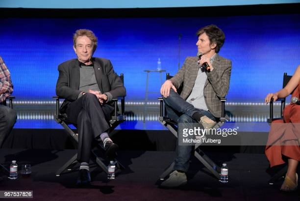 Martin Short and Tig Notaro talk to the audience at Neflix Is A Joke A Celebration of Netflix StandUp FYC Event at Netflix FYSEE At Raleigh Studios...
