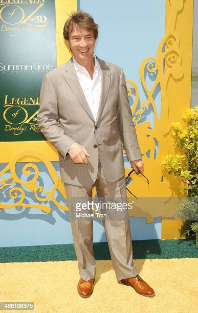 Martin Short arrives at the Los Angeles premiere of Legends of OZ Dorothy's Return held at Regency Village Theatre on May 3 2014 in Westwood...