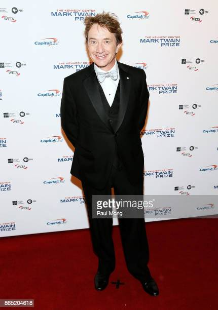Martin Short arrives to the 2017 Mark Twain Prize for American Humor at The Kennedy Center on October 22 2017 in Washington DC