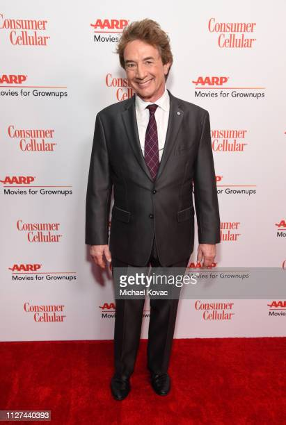 Martin Short attends AARP The Magazine's 18th Annual Movies for Grownups Awards at the Beverly Wilshire Four Seasons Hotel on February 04 2019 in...