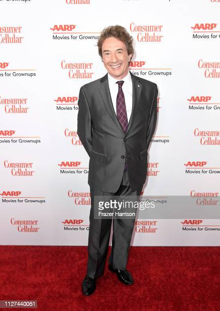 Martin Short attends the 18th Annual AARP The Magazine's Movies For Grownups Awards at the Beverly Wilshire Four Seasons Hotel on February 04 2019 in...