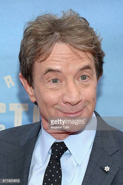 Martin Short attends the 'Bright Star' opening night on Broadway on March 24 2016 in New York City