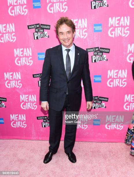 Martin Short attends the opening night of Mean Girls on Broadway at August Wilson Theatre on April 8 2018 in New York City