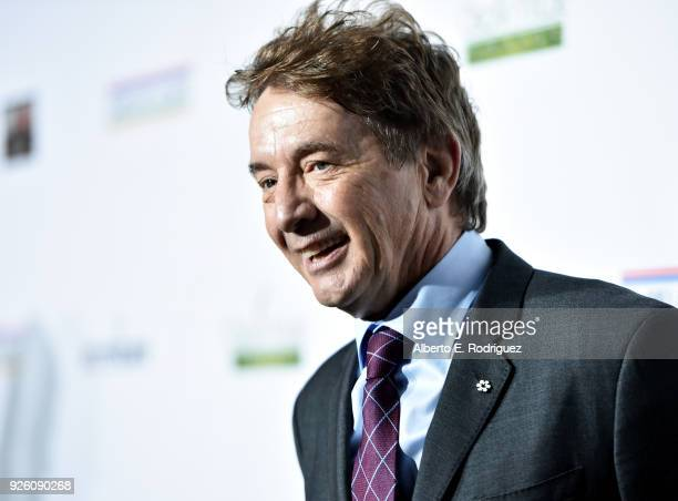 Martin Short attends the Oscar Wilde Awards 2018 at Bad Robot on March 1 2018 in Santa Monica California