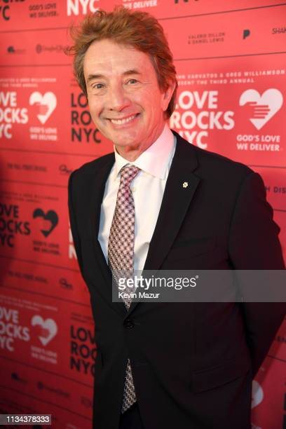 Martin Short attends the Third Annual Love Rocks NYC Benefit Concert for God's Love We Deliver on March 07 2019 in New York City