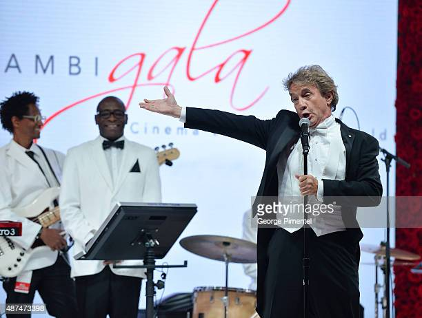 Martin Short hosts the 2015 Toronto International Film Festival 'AMBI Gala' at the Four Seasons Hotel on September 9th 2015 in Toronto Canada