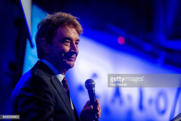 Martin Short on stage during John McEnroe hosts Stand Up For A Cause at Caroline's On Broadway on April 11 2018 in New York City