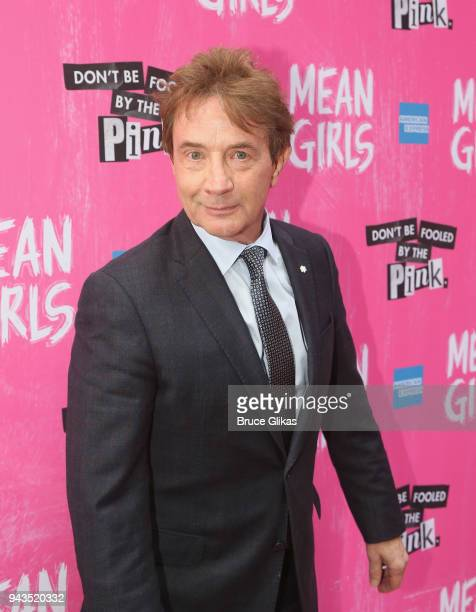 Martin Short poses at the arrivals for the openng night of the new musical based on the cult film Mean Girls on Broadway at The August Wilson Theatre...