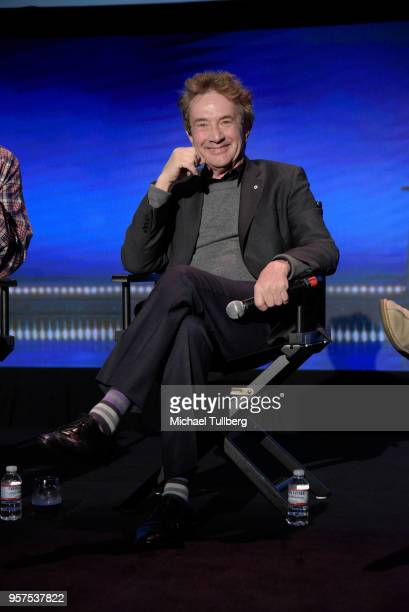 Martin Short talks to the audience at Neflix Is A Joke A Celebration of Netflix StandUp FYC Event at Netflix FYSEE At Raleigh Studios on May 11 2018...
