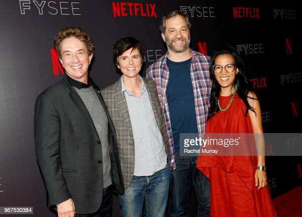 Martin Short Tig Notaro Judd Apatow and Ali Wong attend the 'Netflix is a Joke' Panel at Netflix FYSEE at Raleigh Studios on May 11 2018 in Los...