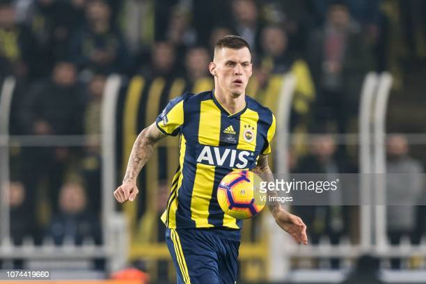 Martin Skrtel of Fenerbahce SK during the Turkish Spor Toto Super Lig match Fenerbahce AS and Buyuksehir Belediye Erzurumspor at the Sukru Saracoglu...