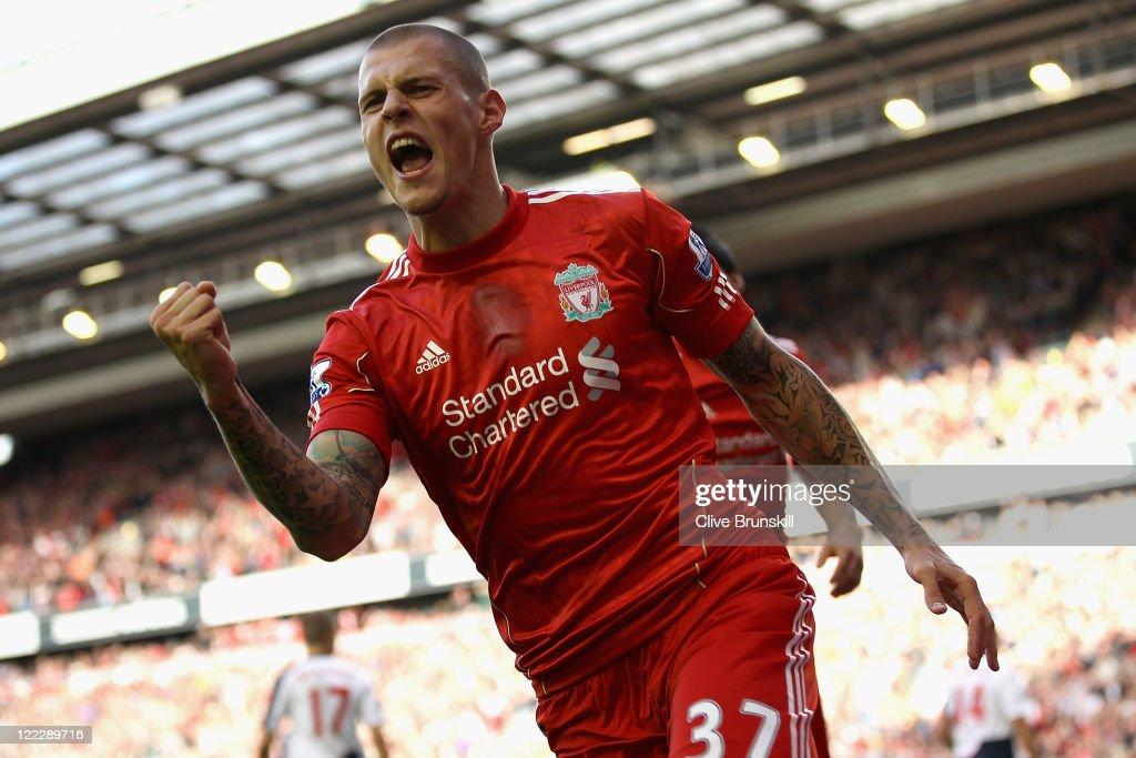 Liverpool v Bolton Wanderers - Premier League