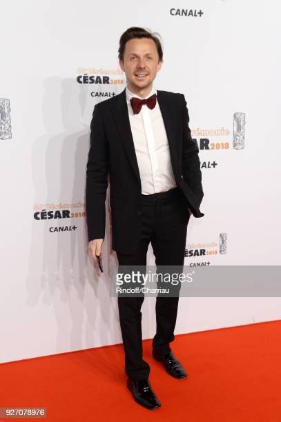 Martin Solveig arrives at the Cesar Film Awards 2018 At Salle Pleyel on March 2 2018 in Paris France