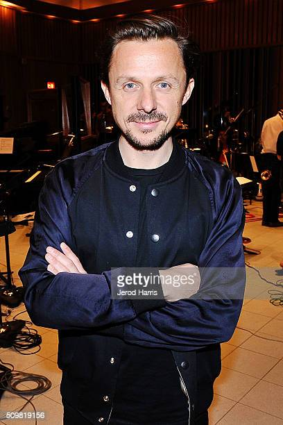 Martin Solveig at the GRAMMY Foundation's GRAMMY Camp Jazz Session studio recording at Capitol Studios Mastering at Capitol Records Studio on...