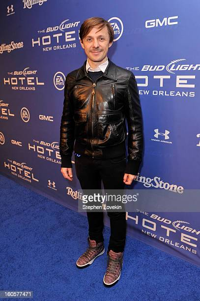 Martin Solveig attends Bud Light Presents Stevie Wonder and Gary Clark Jr at the Bud Light Hotel on February 2 2013 in New Orleans Louisiana